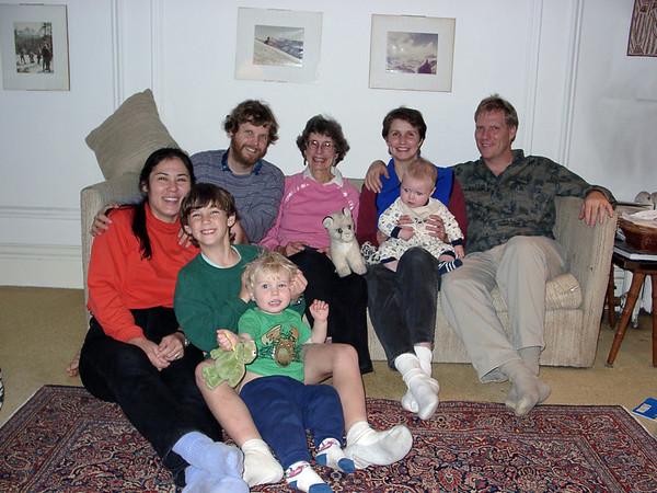 Family Photos Dec 9, 2001